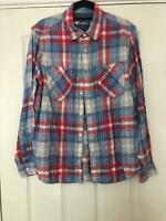 Gap 1969 Blue Casual Shirt Size Small WoMens Long Sleeve Great Condition (E60)