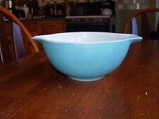 Pyrex Blue Turquoise Aqua # 442 Mixing bowl 1 1/2 QT