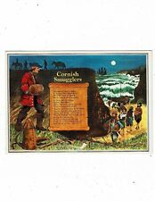 CORNISH POST CARD BY MURRAY KING CORNISH SMUGGLERS