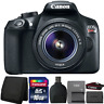 Canon EOS Rebel T6 DSLR Camera with 18-55mm IS II Lens and Accessory Kit