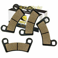 FRONT BRAKE PADS FIT POLARIS RZR S 800 EFI 2009 2010 2011 2012 2013 2014