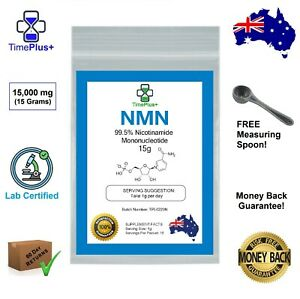 NMN Pure Nicotinamide Mononucleotide Certified Purity >99.5% Powder 15g NAD+