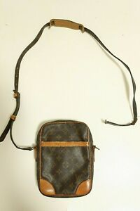 Authentic Louis Vuitton  Monogram Danube Shoulder Bag Cross Body #7556