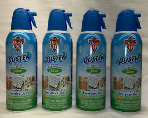 4 Dust Off Professional Electronics Duster 12 Oz