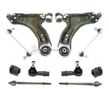 VAUXHALL COMBO FRONT 2 WISHBONE ARMS LINKS OUTER + INNER TRACK ROD ENDS D BUSH
