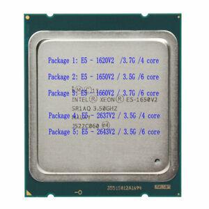 Intel Xeon E5-1620V2 E5-1650V2 E5-1660V2 E5-2637V2 E5-2643V2 server processor