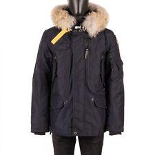 PARAJUMPERS Parka Pelz Daunenjacke Jacke RIGHT HAND mit Futter Navy Blau 08909