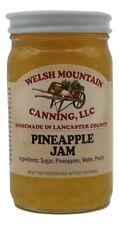 PINEAPPLE JAM - 100% All Natural Amish Homemade 8 oz Fresh Fruit Spread USA