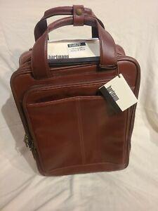 Hartmann Advisor Reserve Business Case, Cognac, $855 Retail, Rare, New With Tags