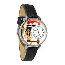 Whimsical Watches Unisex U0610001 Lawyer Black Skin Leather Watch