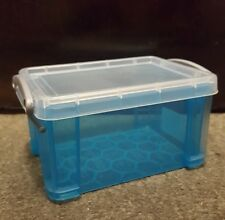 Really Useful Blue 0.7 Litre Small Storage  Box