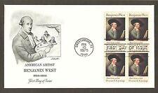 #1553 10c Benjamin West - Artmaster Fdcb4
