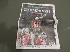 2014 OSU National Champions team signed Dispatch Buckeyes Ezekiel Elliott Meyer