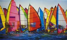Jigsaw puzzle Maritime Nautical Windsurfing 500 piece NEW