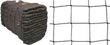 Freilauf Volierennetz  20,00 m x 30,00 m  Masche 10 cm  schwarz Hühnerauslauf