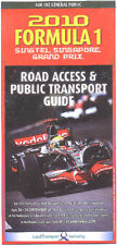 F1 Singapore Road Access & Public Transport Guide 2010
