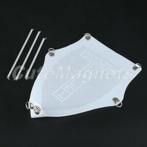 White Iron Shoe Ironing Board Protect Fabrics Cloth Heat Universal Teflon Cover