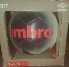 Umbro Duotone Size 5 Soccer Ball -Blue and White