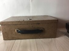 VINTAGE STEEL FIRE PROOF CASH BOX ROCKAWAY METAL PRODUCTS CORP/ NO KEY