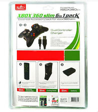 The Most Essential XBOX 360 Slim 6 in 1 Bundle Pack – XBox 360