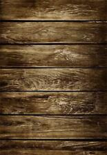 5x7ft Grunge Wooden Board Backdrop Old Shabby Wood Floor Photography Background