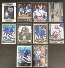 Henrik Lundqvist New York Rangers 10 Card Lot!