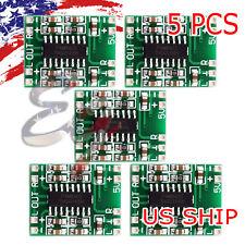 5X PAM8403 Mini 2 Channel Stereo 3W Class D Audio Power Amplifier Module Board