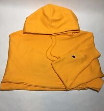 Champion Men's Large Reverse Weave Pullover Hoodie Yellow  NWOT