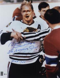 """Bobby Hull Signed Blackhawks 16x20 Photo Inscribed """"The Golden Jet"""" & """"HOF 1983"""""""