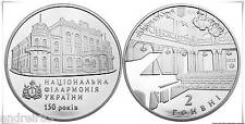 Ukraine 2013 Coin 2 UAN hryvnia 150 years of the National Philharmonic