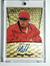 1/1 2011 Leaf Metal Brandon Workman Superfractor Red Sox Auto Phillies Autograph