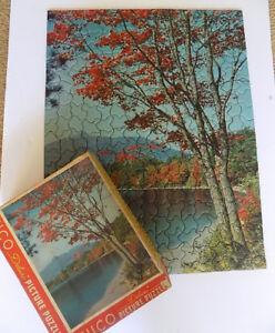 Vintage Tuco Deluxe Picture Puzzle Autumn Splendor 16 x 20