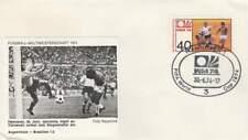 Voetbal envelop: WK Duitsland 1974 / Argentinië - Brazilië (voet021)