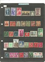 NEEWS MIX .séries de timbres USA+ITALE+BAYERNE + .3 scans