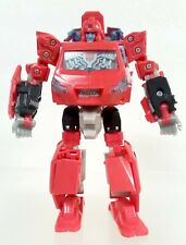 Transformers 2008 Universe deluxe Ironhide figure missing weapon + grille panel