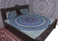 Handlook Mandala Indisch Überwurf Tagesdecke Wandbehang Yoga Deko Tuch 213X238cm