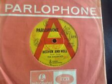THE EASYBEATS A RADIO PROMO HEAVEN AND HELL 45 BANNED DON'T PLAY BANNED ALBERT