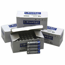 New Pack of 120 BlueDot 1.5V AAA Alkaline Batteries LR03 ~ FREE USA SHIPPING