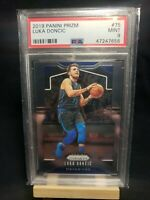 Luka Doncic PSA 9 MINT 2019-20 Panini Prizm #75 Dallas Mavericks 2nd Year Card