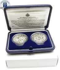 Polierte Platte Münzen aus San Marino nach Euro-Einführung
