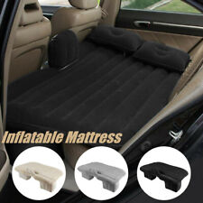 Car Air Bed Inflatable Mattress Back Seat Cushion Two Pillows For Travel F Q