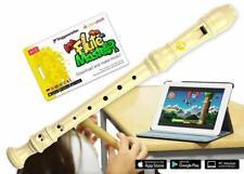 Voggenreiter Flute Master App mit Blockflöte Deutsch Kunststoff Wischtuch Tasche