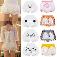 Sweet Lolita Cute Bloomers Pumpkin Lace Shorts Underpants Cosplay Costume