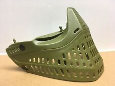 JT Proshield Olive Green Bottom With Chinstrap Paintball Goggle Mask Proflex