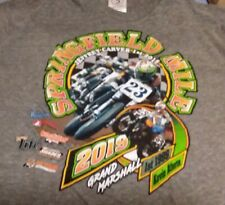 2019 Springfield Mile Two #23s T-Shirt XL  Flat Track Motorcycle Races NEW