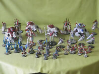 WARHAMMER 40K ELDAR PAINTED ARMY - MANY UNITS TO CHOOSE FROM