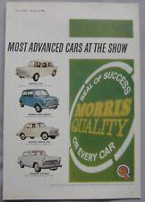 1963 Morris Original advert No.1