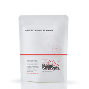 BETA ALANINE POWDER 100% Pure - Pre Workout Energy Muscle Pump By RAPID STRENGTH