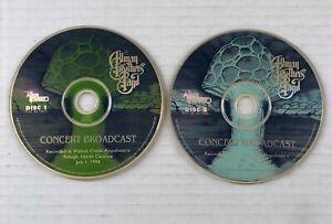 ALLMAN BROTHERS BAND Concert Broadcast Raleigh NC 1994 Promo LIVE CD RADIO SHOW