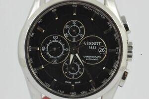 Tissot Coutrier Automatic Men's Watch 1 23/32in Steel Vintage Schöner Condition